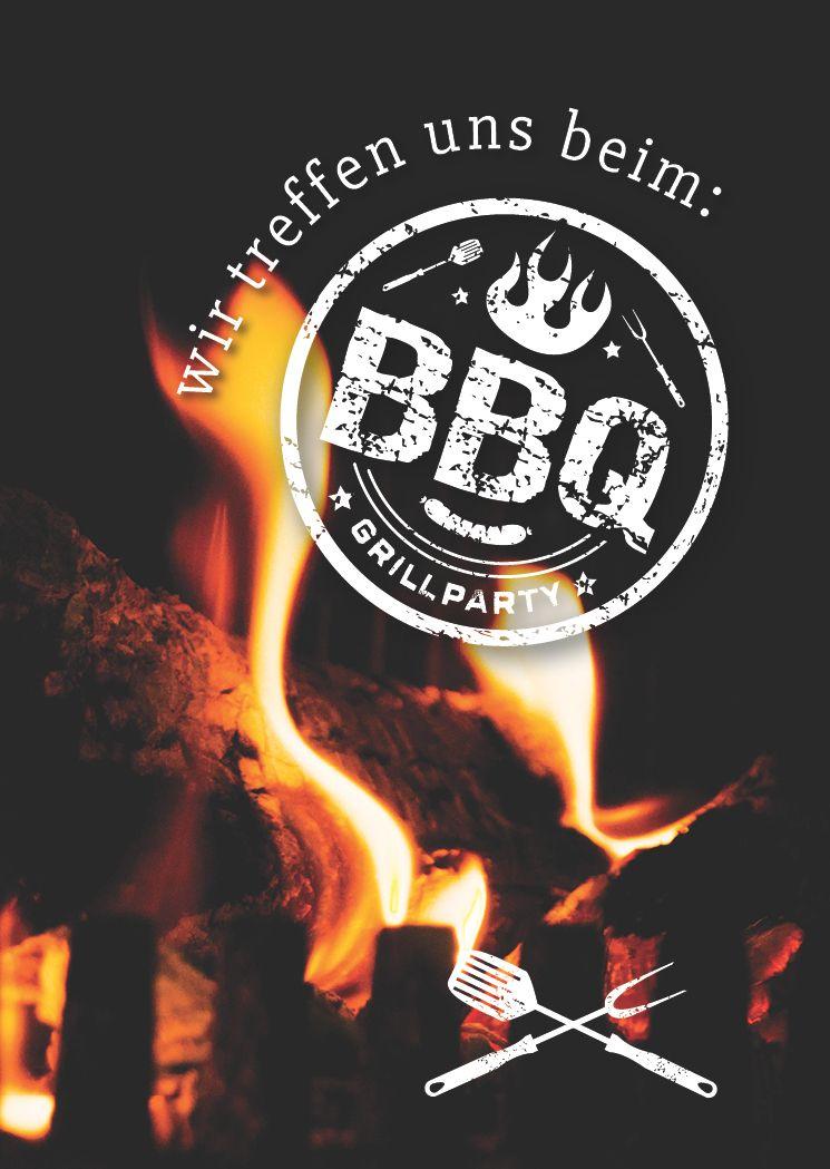 Einladungskarten zum grillen witzig /& originell Einladung BBQ Gartenfest