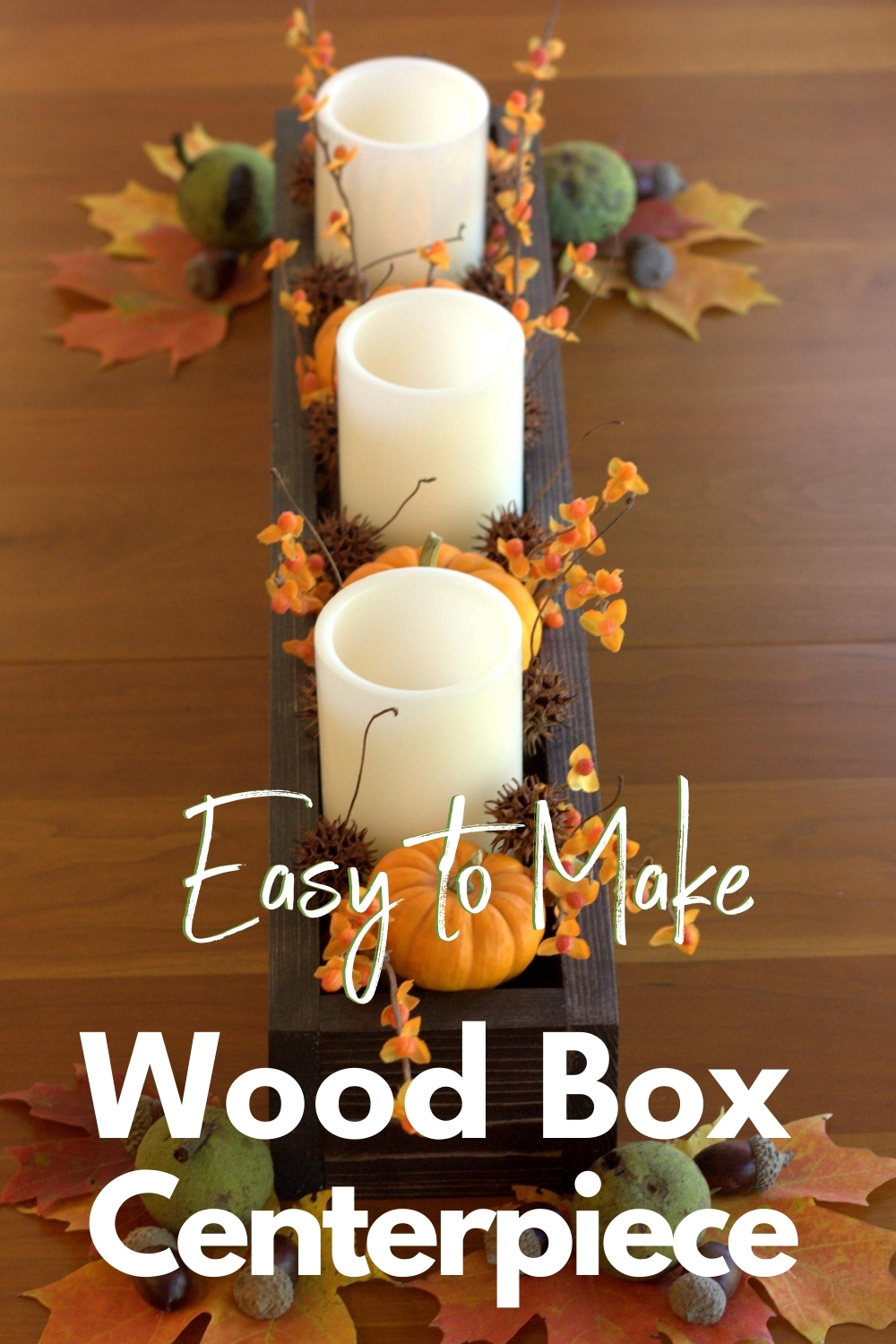 How To Make A Wood Box Centerpiece For Under 10 Wood Box Centerpiece Wood Centerpieces Wood Boxes