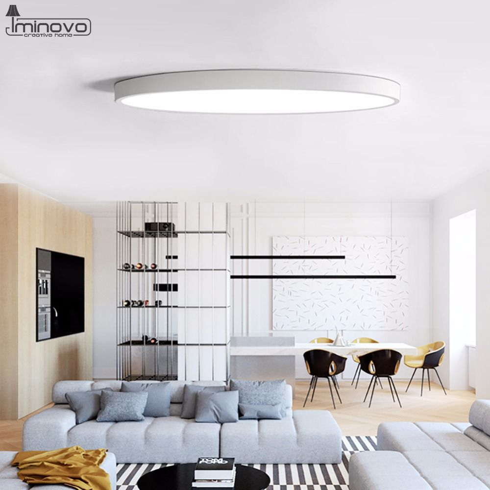 Led Leuchten Wohnzimmer Led-deckenleuchte Moderne Lampe Wohnzimmer Leuchte Schlafzimmer Küche Oberflächenmontage Flush-… | Lamps Living Room, Living Room Lighting, Modern Lamps Living Room