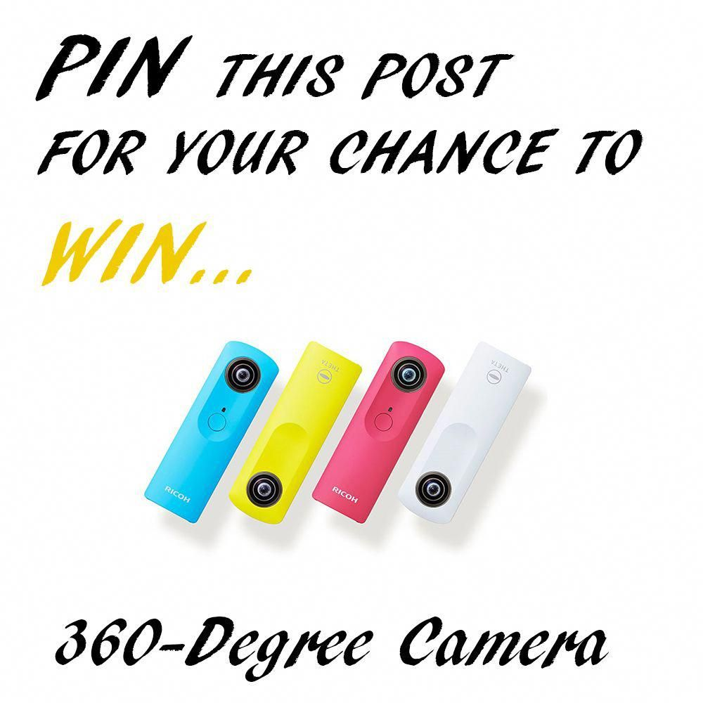 PIN Competition Virtual Reality 360 Degree Camera All