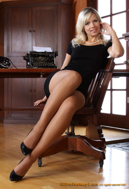 Hot legs in nylons