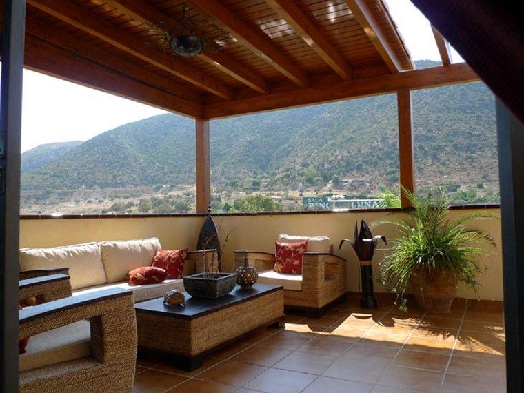 Pérgolas jardines terrazas con estilo muy modernas House - jardines en terrazas
