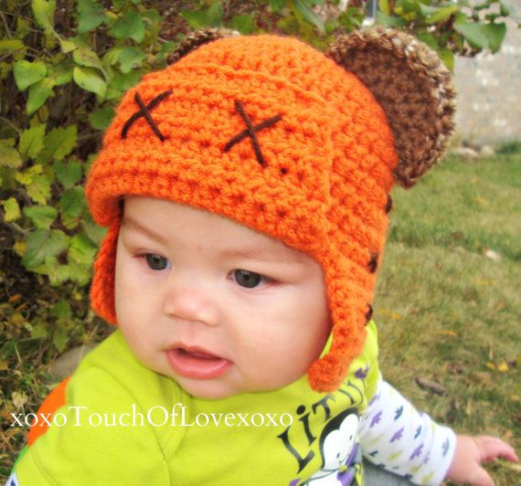 Ewok Hat: Ewok Inspired Beanie Hat Star Wars By XoxoTouchofLovexoxo