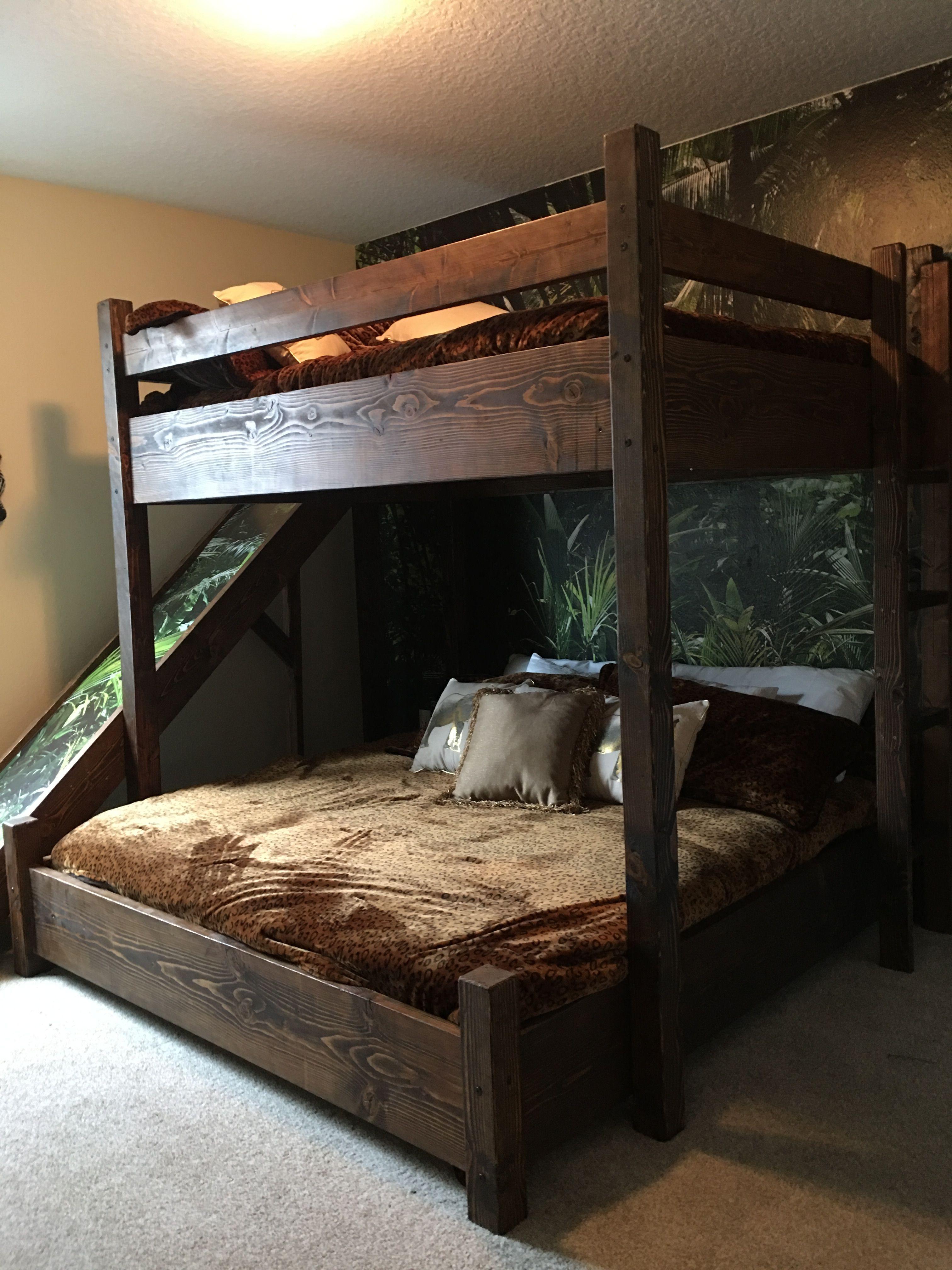 Bunkbed With Slide Custom Bunk Beds Bunk Bed With Slide Queen