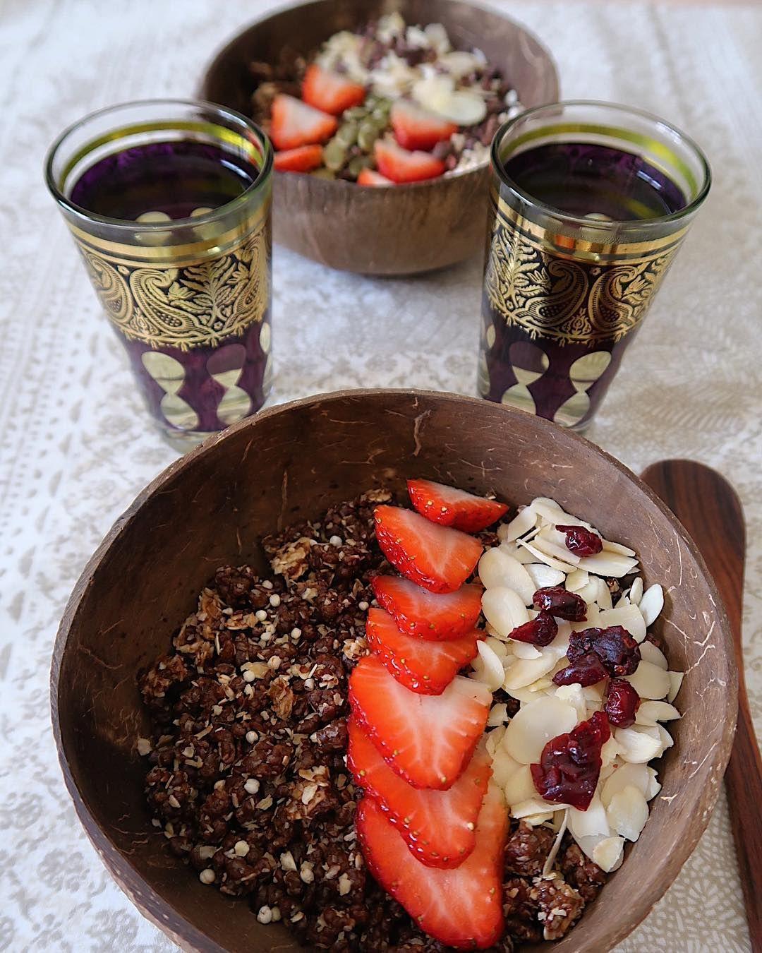 Cacao Tahini Cereal Chefarwa S Favorite Breakfast مافي زي اكل البيت Healthy Eating Eat Breakfast