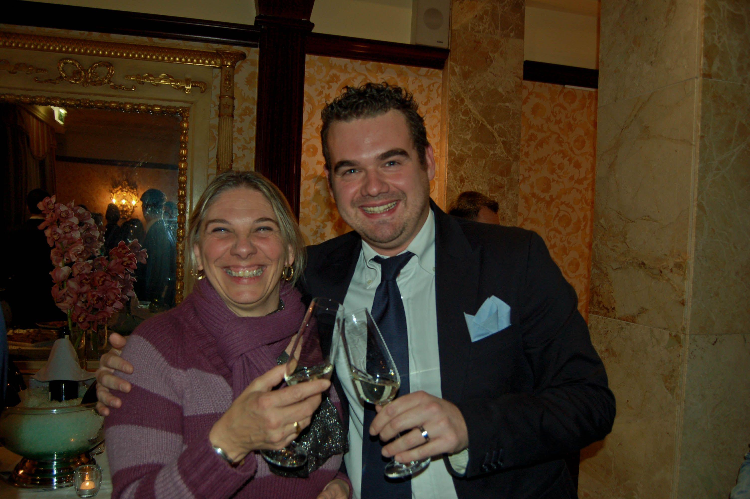 Due membri della commissione di valutazione del IX° GPAV: Maria Barbara Bastoni e Marco Ardengo