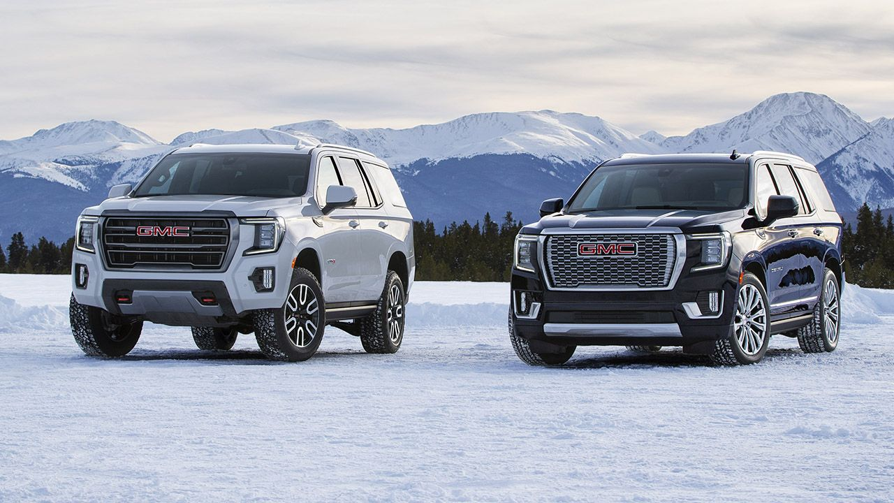2021 Gmc Yukon Debuts With More Size Luxury And Tech In 2020