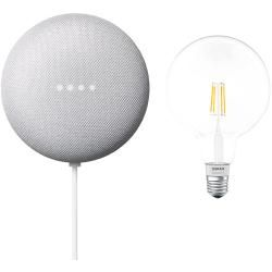 Google Nest Mini & Osram Smart+ Set 15 (Rock Candy)Bauhaus.info #googlehomemini