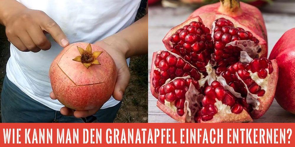 wie isst man einen granatapfel richtig