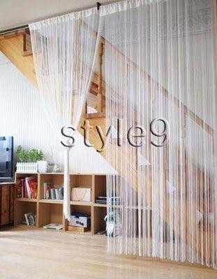 Panel Curtain Room Divider String Curtain Fringe Panel Decoration