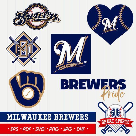 Milwaukee Brewers Svg Milwaukee Beisball Clipart Milwaukee Brewers Dxf Baseball Clipart Milwaukee Clipart Clipart Svg Milwaukee Brewers Brewers Milwaukee