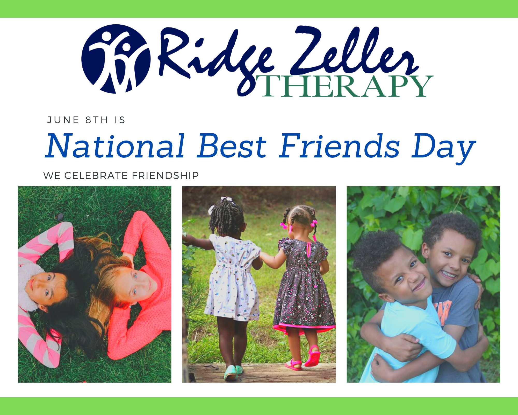 Today Is National Best Friends Day We Celebrate Friendship Today And Always Friendship Slp Ot Occup In 2020 National Best Friend Day Best Friend Day Friends Day