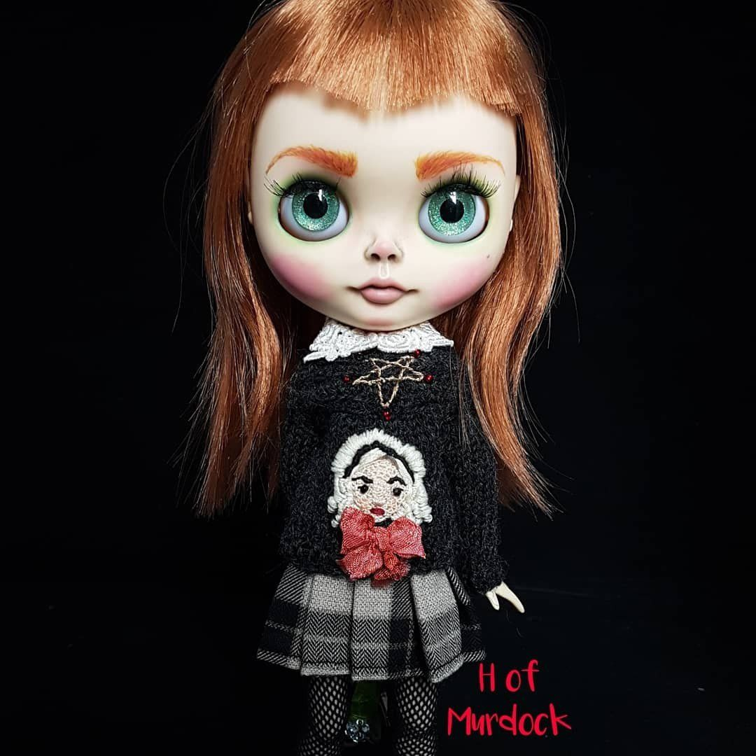Sabrina The Witch Custom Blythe Doll Dolls Dolls, Clothing & Accessories