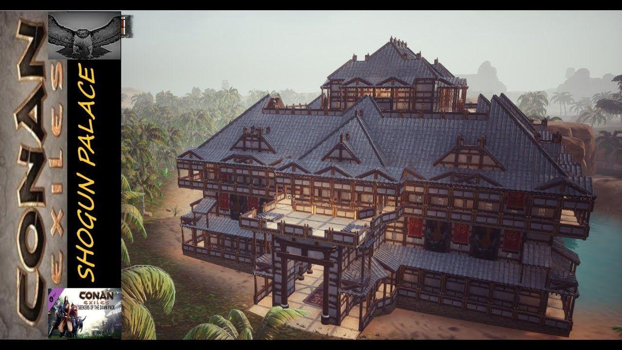 Conan Exiles Shogun Palace Conan Exiles Conan Dungeon Maps