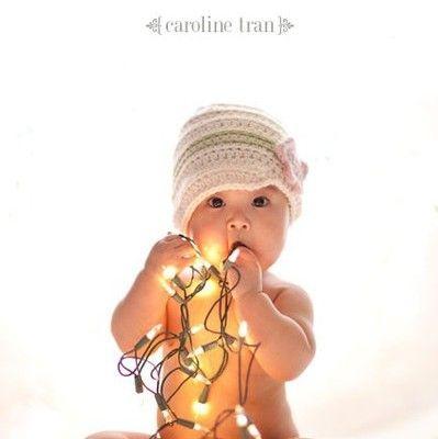 A Baby Christmas Photo