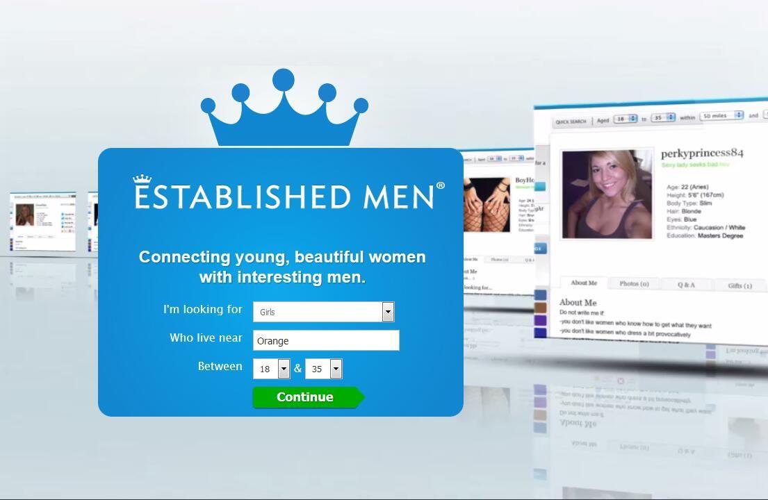 Established men dating site