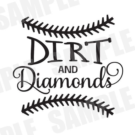 svg commercial personal use baseball softball dirt and diamonds silhouette cameo free cricut. Black Bedroom Furniture Sets. Home Design Ideas