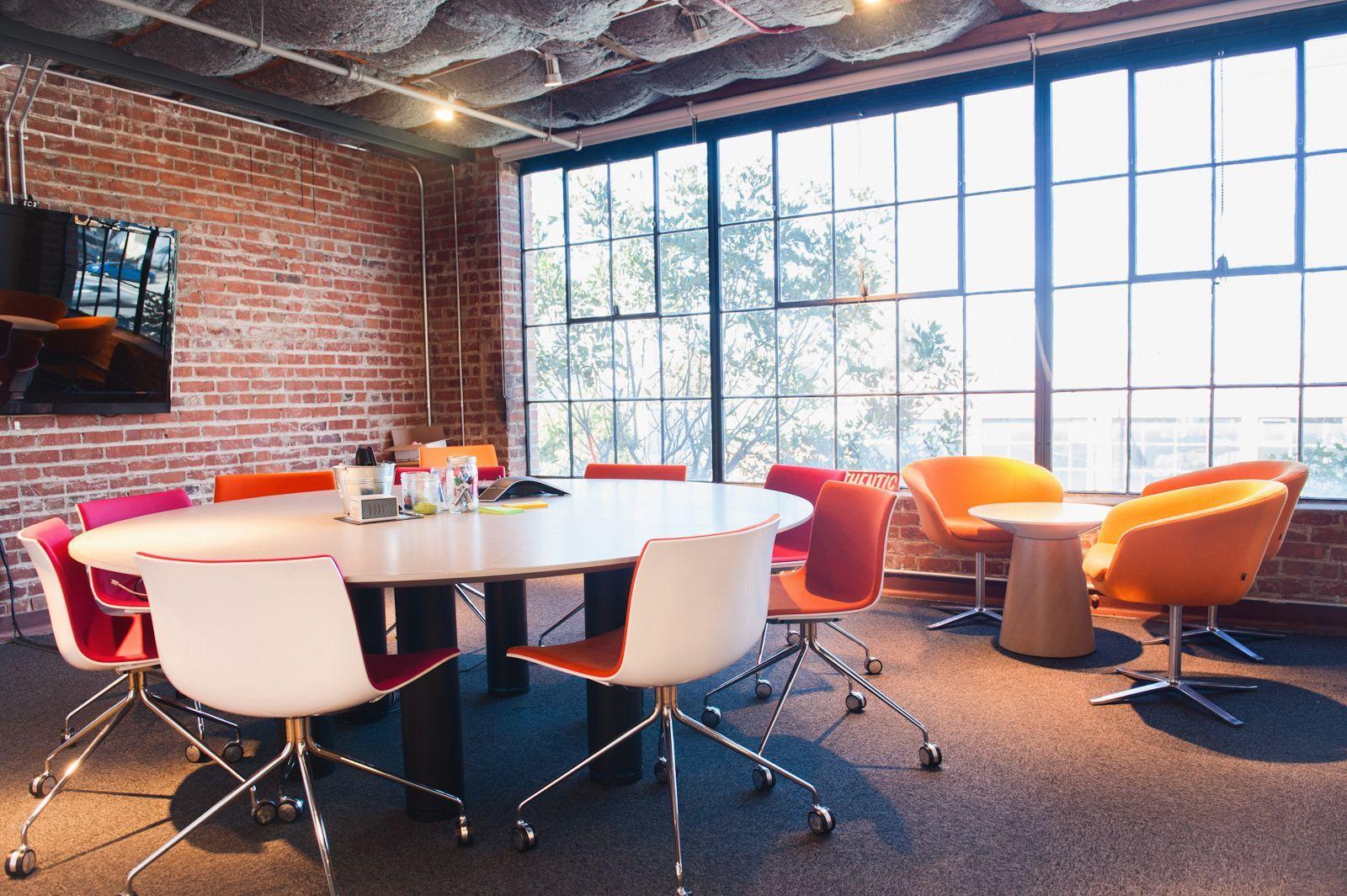 Pinterest Office Tour San Francisco Tech Headquarters Workspace Design Modern Office Space Cool Office Space