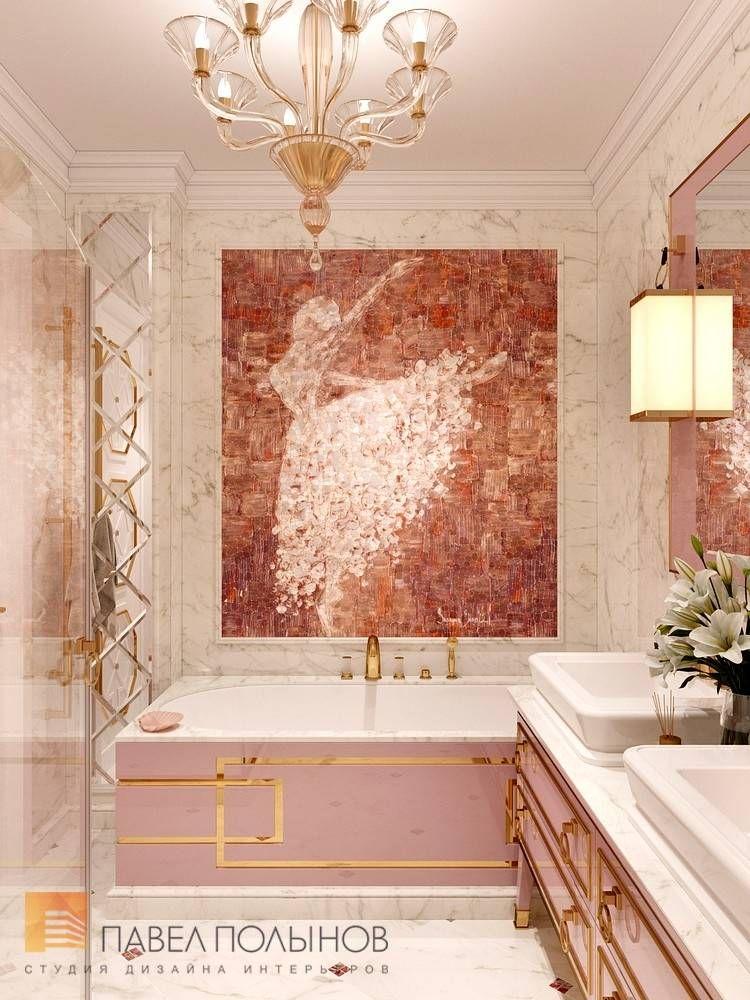 Фото дизайн ванной комнаты для девочек из проекта «Дизайн ...