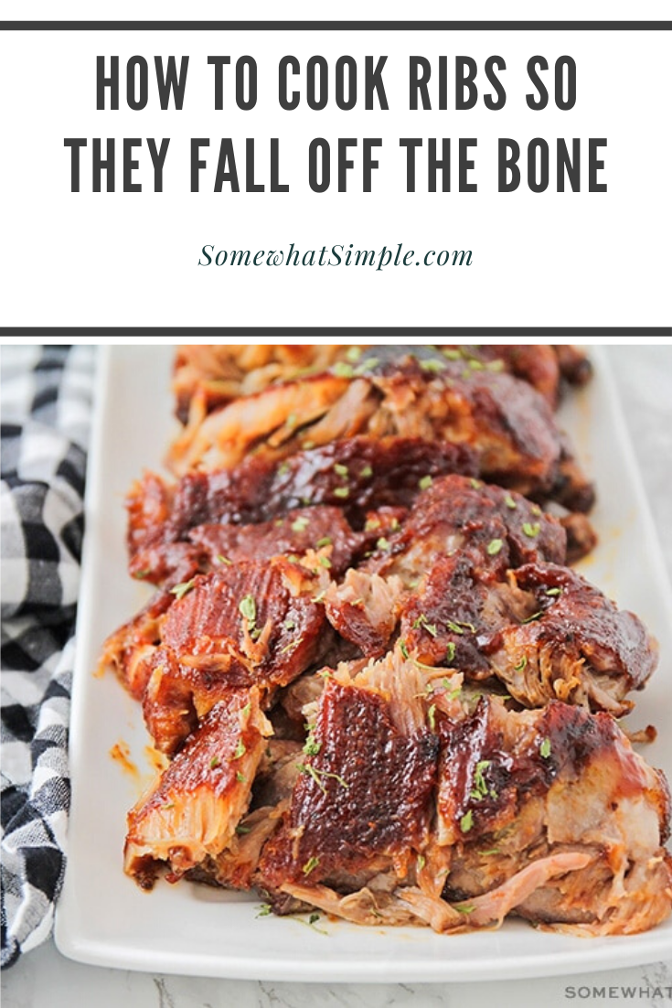How To Make Fall Off The Bone Ribs Simple Bbq Ribs Recipe Recipe Rib Recipes How To Cook Ribs Bbq Recipes Ribs