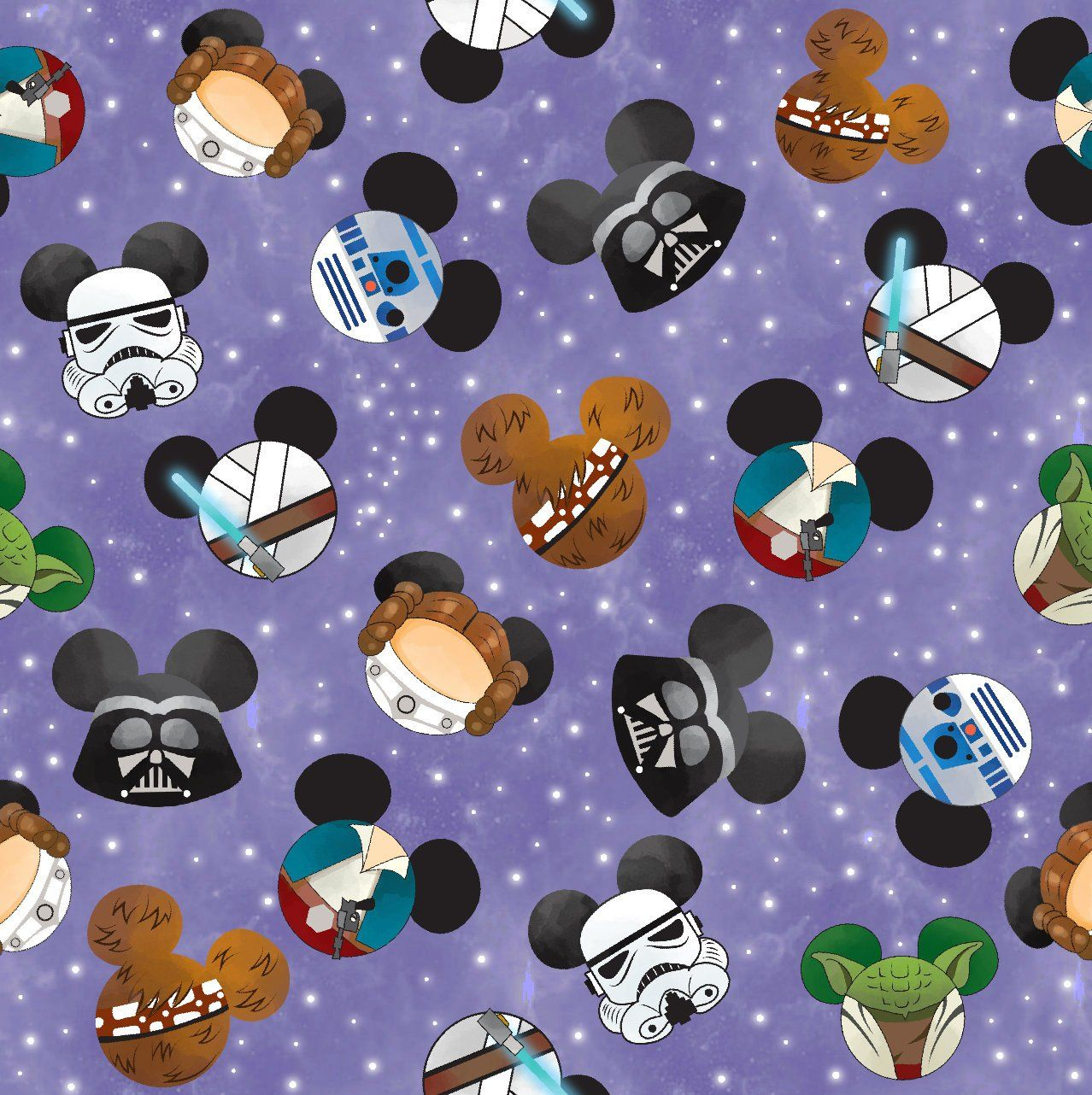Star Wars fabric, cotton fabric, knit fabric, fabric by