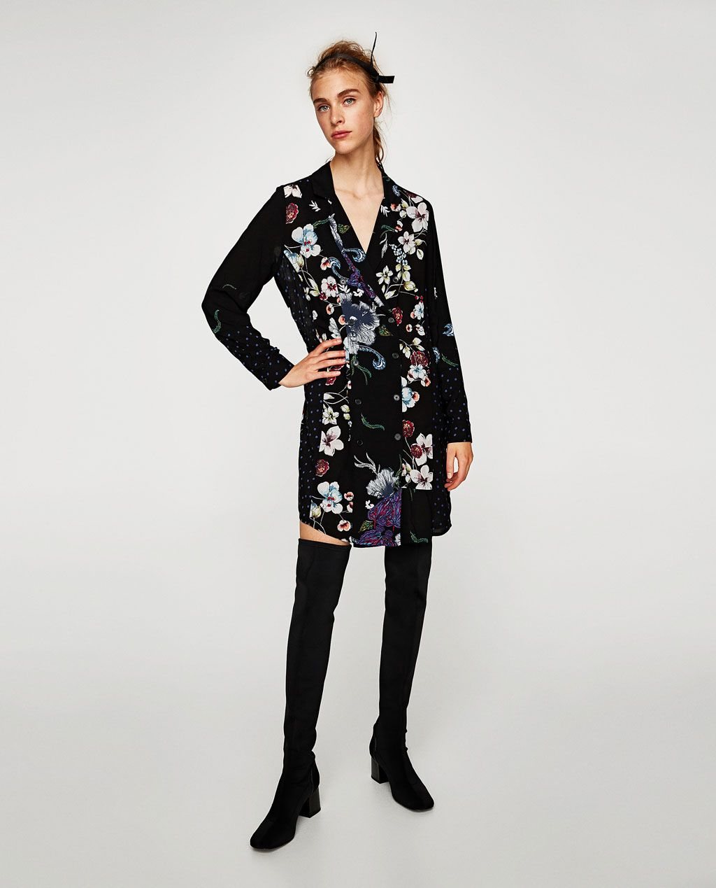 From 1 And Image Inspiration More Dresses Of Floral Dress Blazer Zara dBwHqwnX