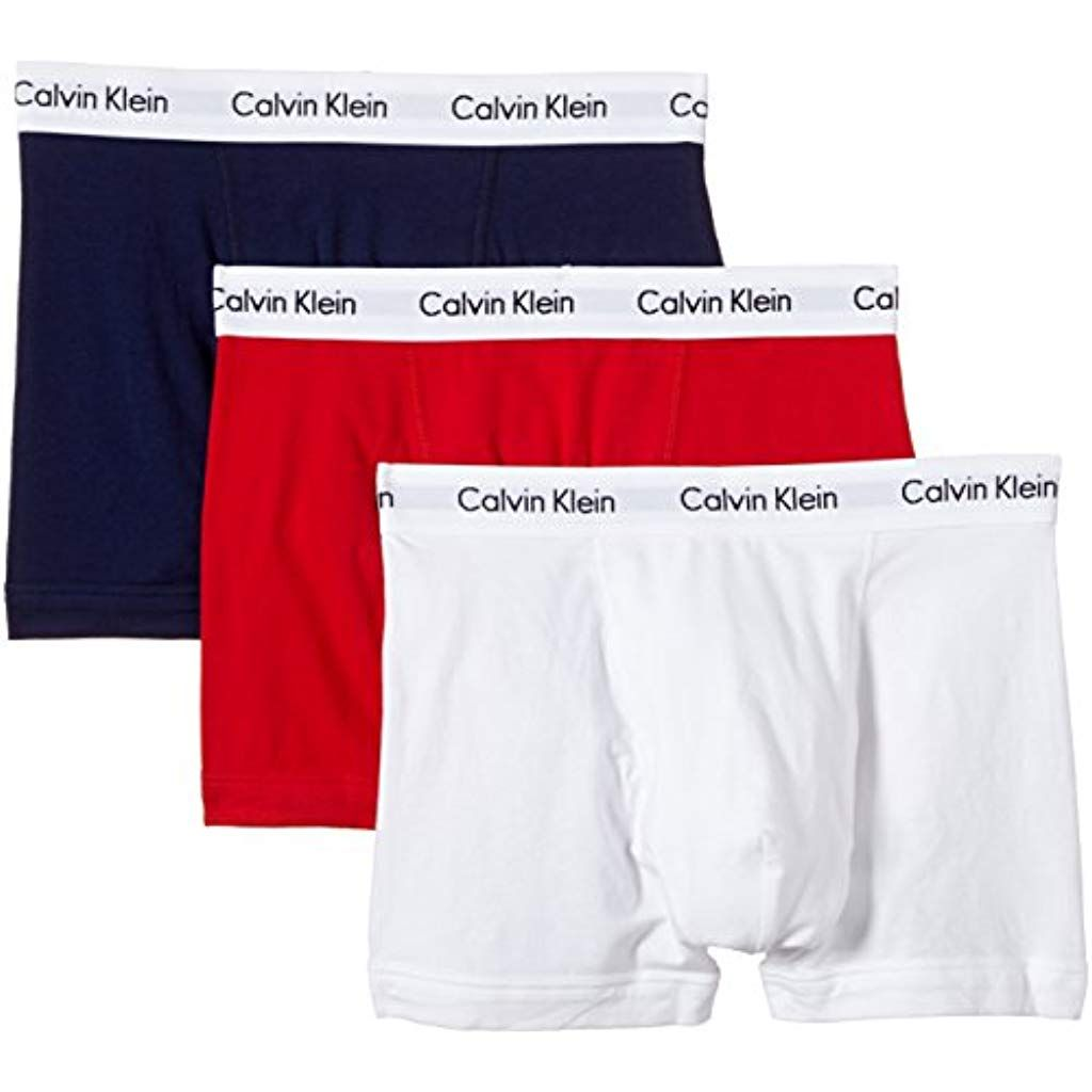 Calvin Klein Calecon Lot De 3 Homme Boxer Pour Homme Calvin Klein Pour Hommes Calvin Klein