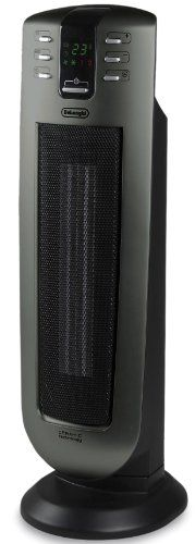 Delonghi Tch7090er Safeheat 24 In Ceramic Tower Heater With Remote Control And Eco Energy Function Learn More By Visiting T Tower Heater Heater Ceramic Heater