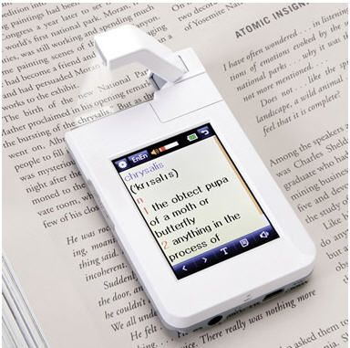 This point-and-click dictionary is a must-have for bookworms who love gadgets
