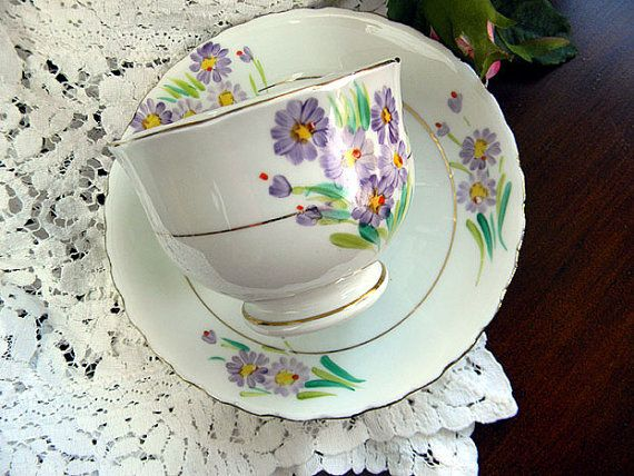 Phoenix Bone China T F and S Ltd Tea Cup and by TheVintageTeacup, $13.00