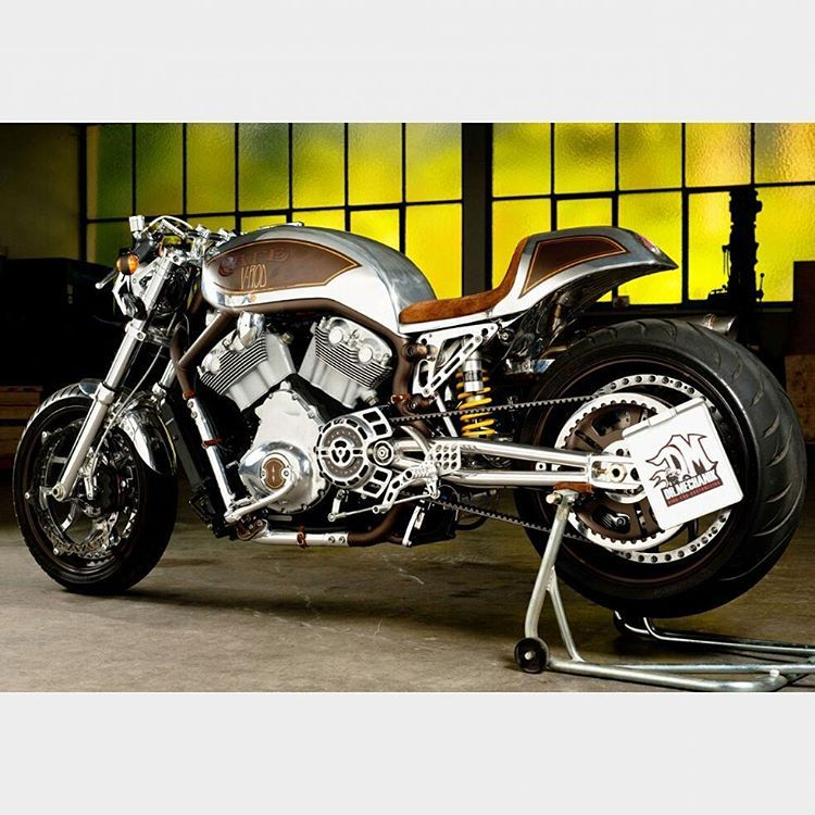 Harley By Dr Mechanik F4f Followback Custom Bratstyle Caferacer Busa Builtnotbought R100 Scrambler Tracker Design Custombuilt Custombuild Vintage