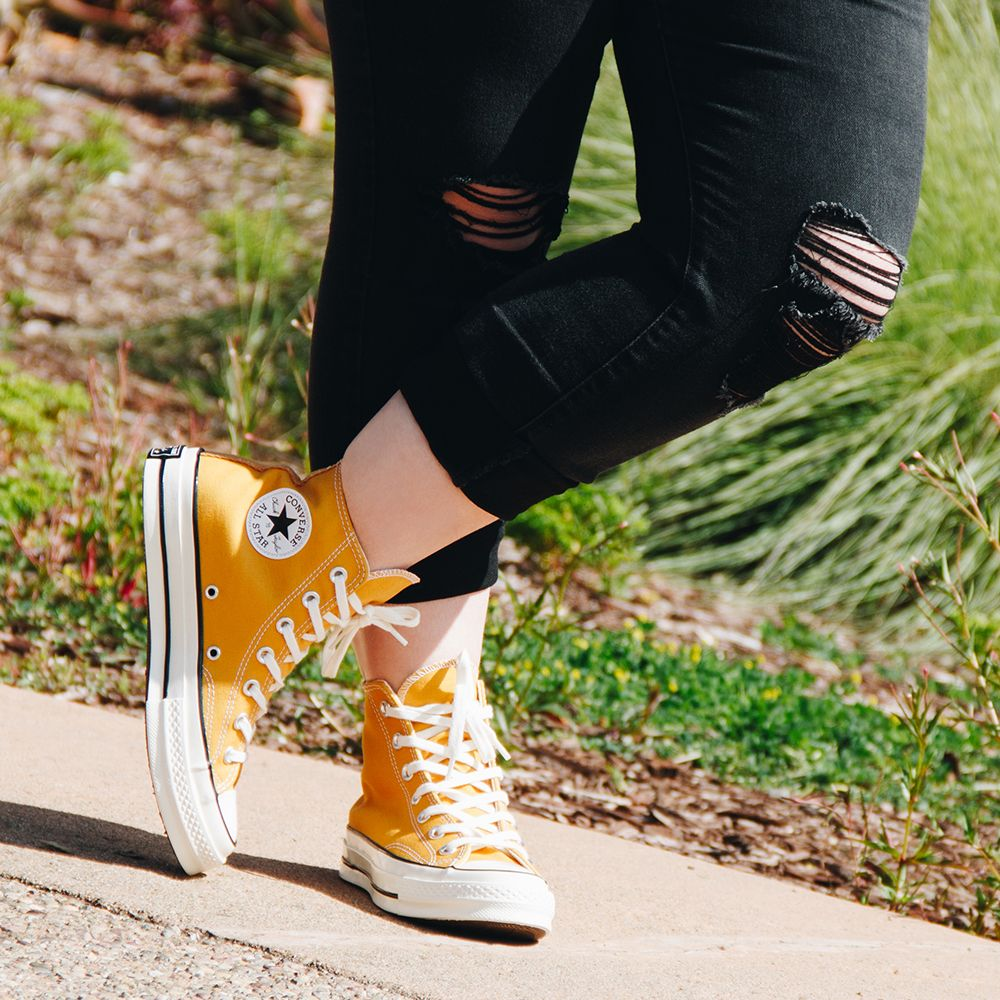 Converse Chuck 70 Hi Top Sneaker in Sunflower | Photography