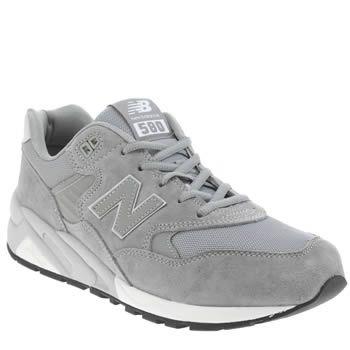 new balance 580 mens grey