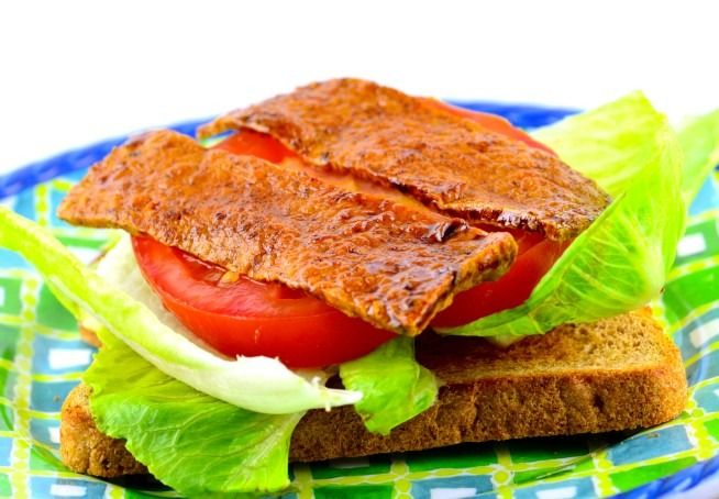 Add this mock bacon recipe to your next BLT and you won't believe you're not eating meat.