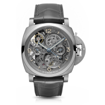Panerai Luminor 1950 Tourbillon GMT Titanio Lo Scienziato Reloj PAM00578