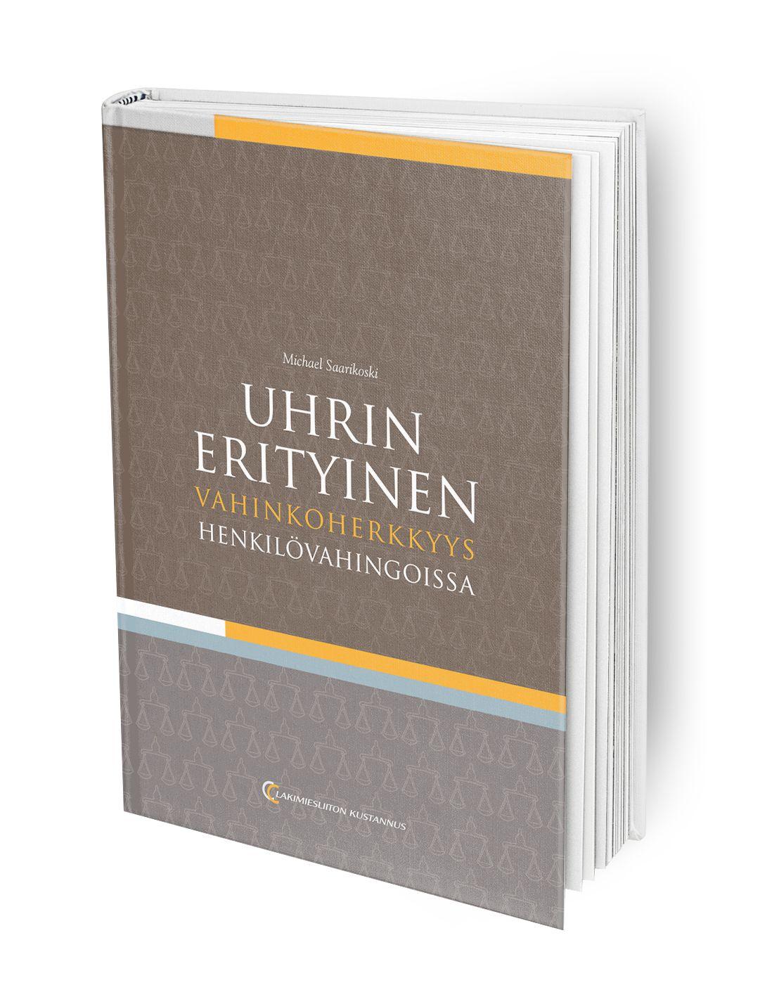 Teos on henkilövahinkojen syy-yhteyskysymyksiä käsitteleville tuomareille, esittelijöille ja asianajajille.
