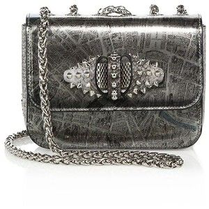 294ad404893 Christian Louboutin Sweet Charity Paris Metallic Crossbody Bag ...
