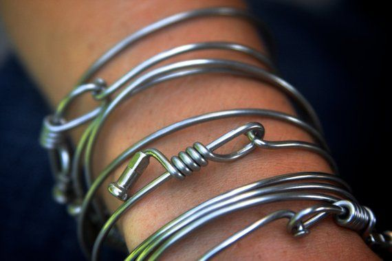 Bike Spoke Bracelet By Marleymade 100 Recycled Bracelets Bike Craft Bicycle Spokes