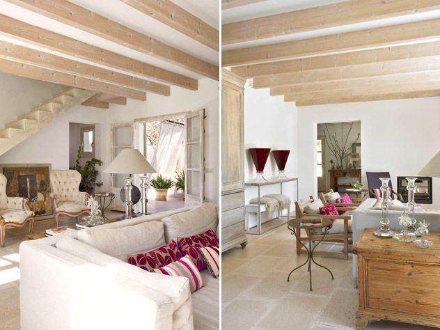 Mix rustico nordico y estilo frances interiorismo mestre for Interiorismo estilo nordico
