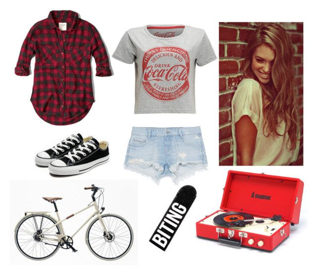 """kicks"" by mackrobinson ❤ liked on Polyvore featuring moda, Zara, Abercrombie & Fitch, Converse, Hermès, Bershka, fun, beautiful, converse i summer2015"