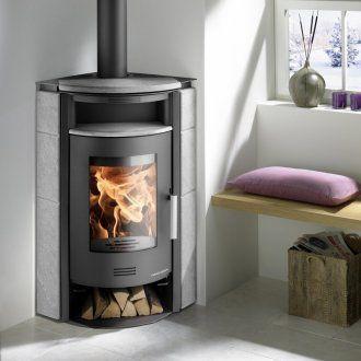Haas Sohn Wood Burning Stove Corner Wood Burning Stove Stove