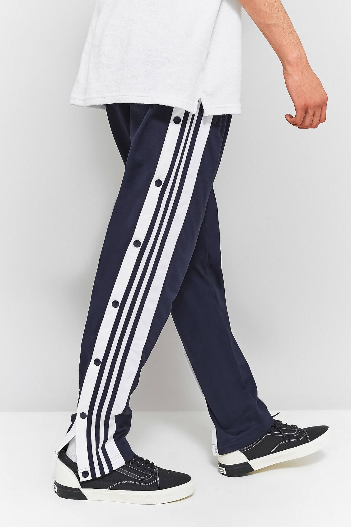 c405061f68f3 adidas Legend Ink Adibreak Popper Track Pants