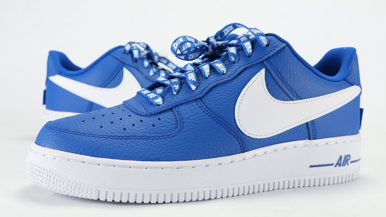 Nike Air Force 1 Low Nba Statement Game Royal Review On Feet In