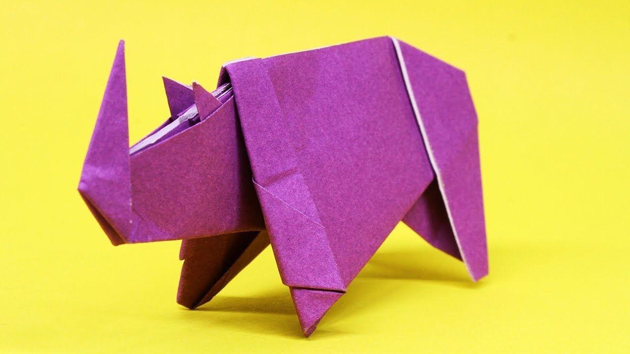 Photo of Easy Origami Rhino – How to Make Rhino Step by Step