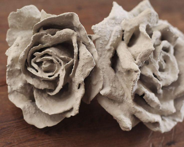 Tutorial: DIY Concrete Flowers