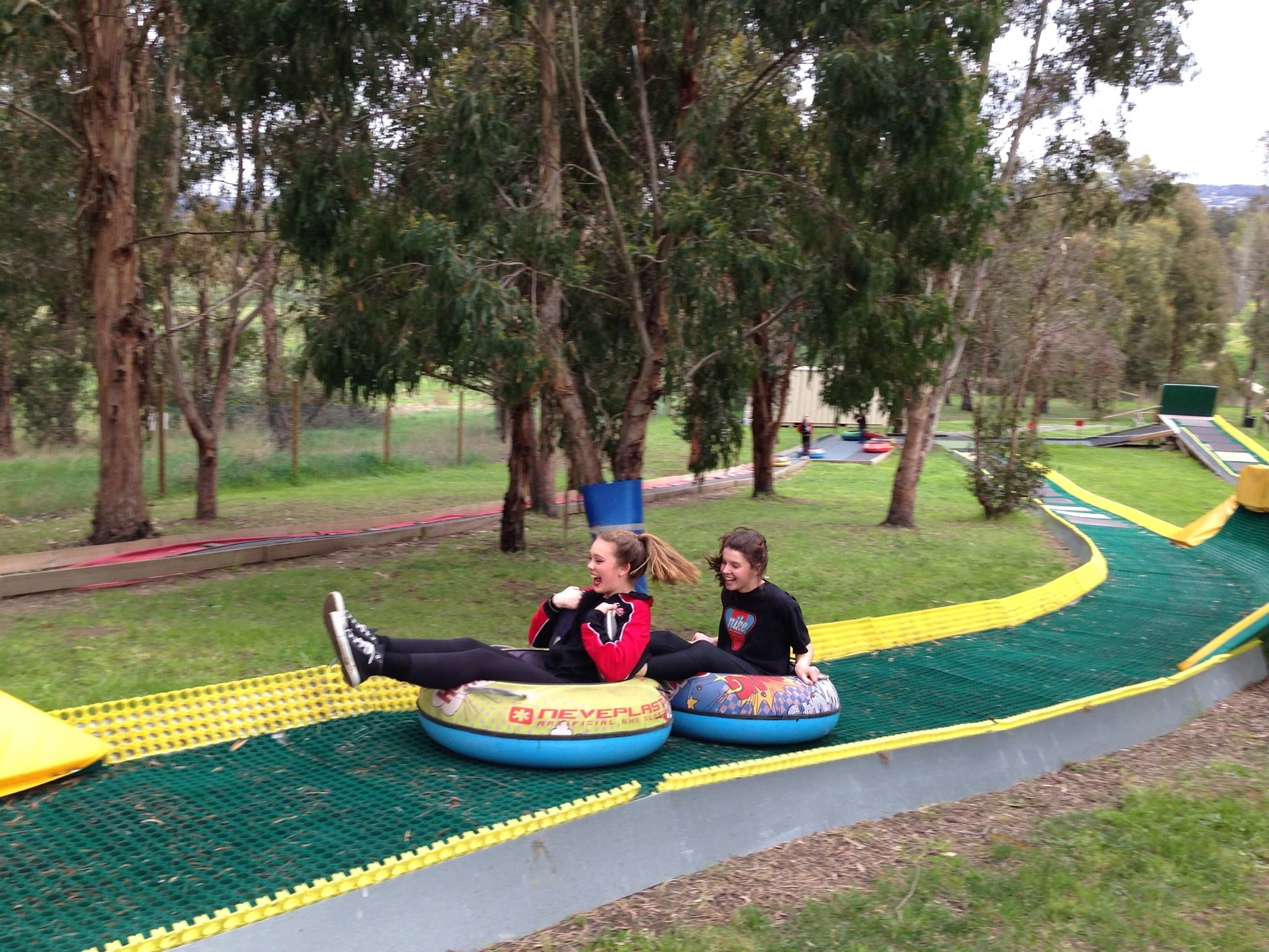 Having a great fun in Tasmania with TUBBY slides neveplast