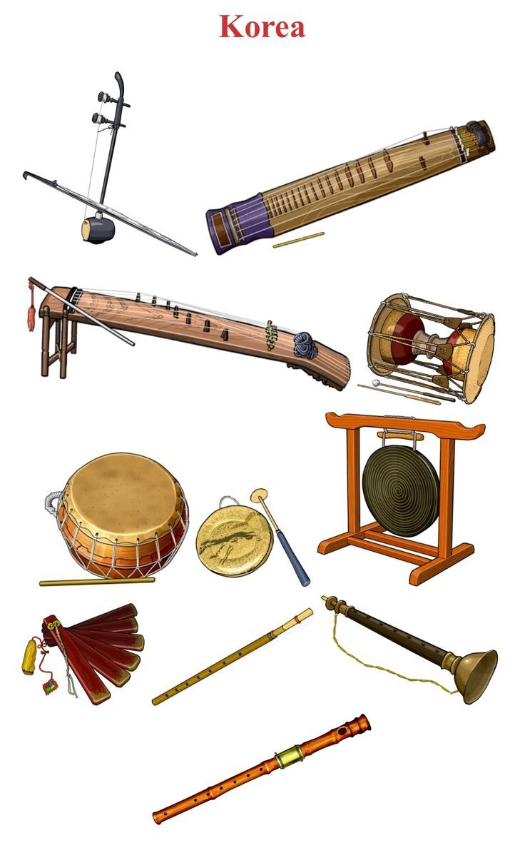 Korean traditional musical instruments musical for Gardening tools quizlet
