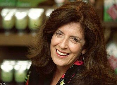 Anita Roddick-founder of The Body Shop-My Hero-RIP