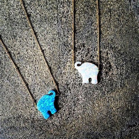 Trunk is Up and Good Luck is in the Airmade with loveby Bara Boheme @shopshals #baraboheme #elephant #goodluck #miamibeach #necklace #trunkisup