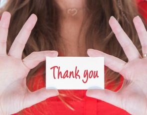 Impress after the interview: The perfect thank-you note